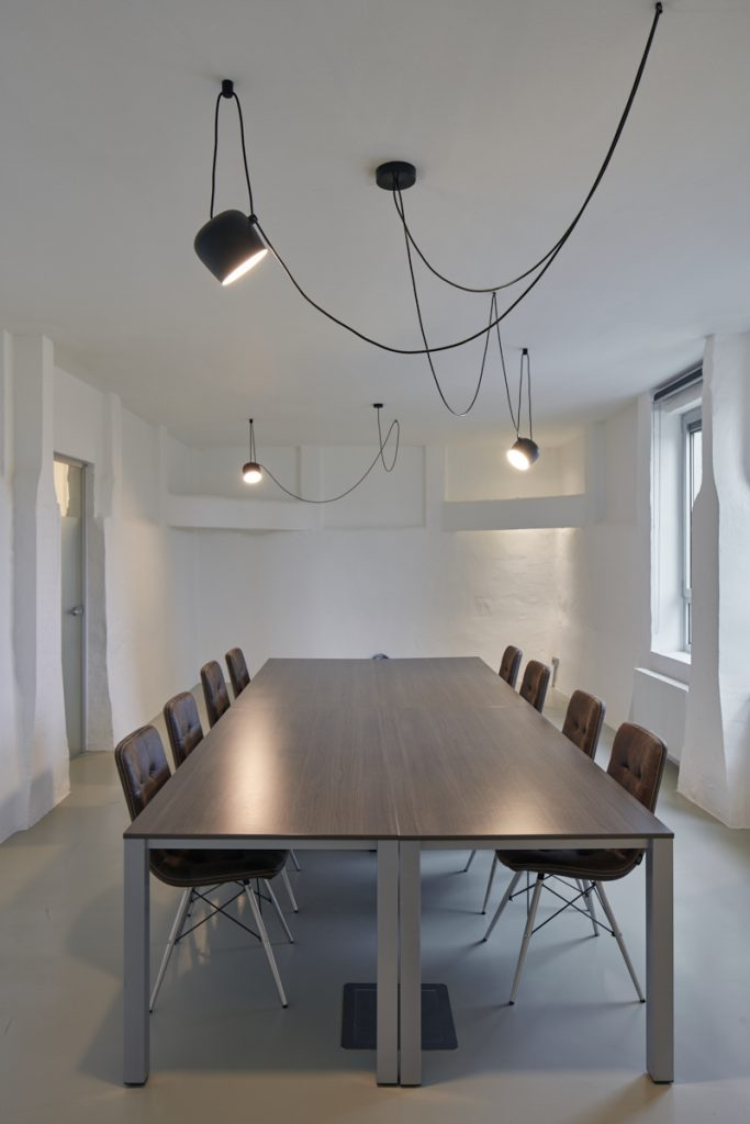 Trendy kantoorverlichting